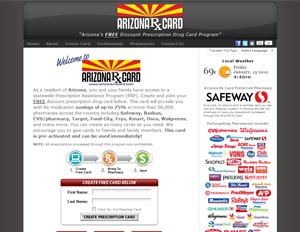 Arizona Rx Card