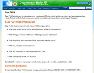 Hawaii State Health Insurance Assistance Program (SHIP)