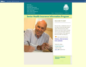Iowa Senior Health Insurance Assistance Program - SHIIP