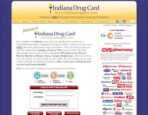 Indiana Drug Card