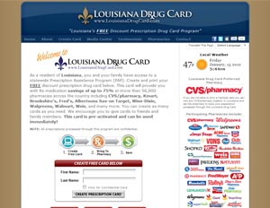 Louisiana Drug Card