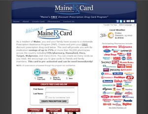 Maine Rx Card
