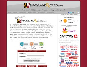 Maryland Rx Card
