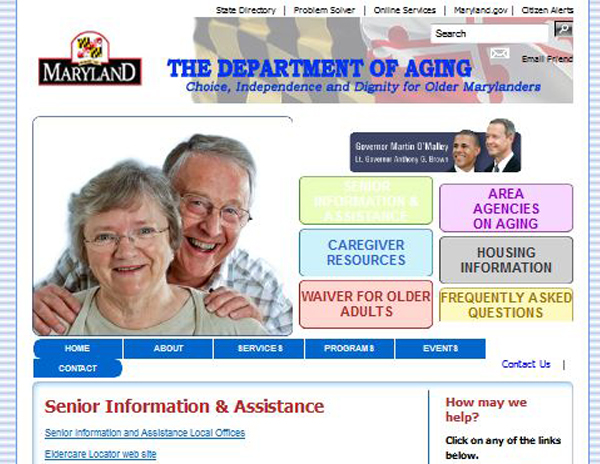 The Maryland Department of Aging