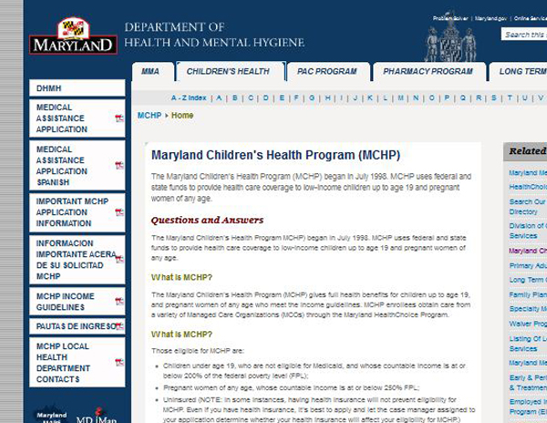 Maryland Children's Health Insurance Program