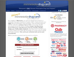 Minnesota Drug Card